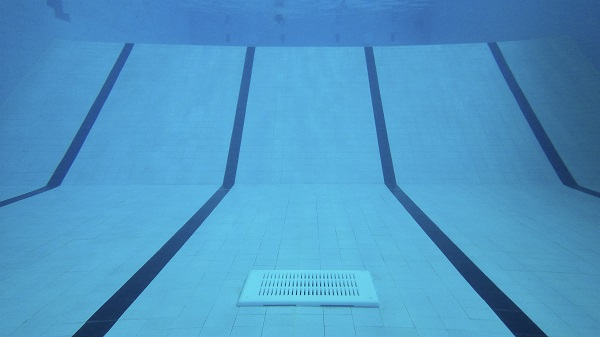 Single sump in pool a